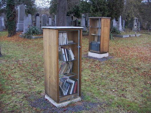 bibliotecas extrañas
